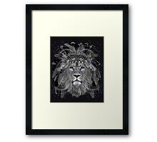 Don't Define Your World (Chief of Dreams: Lion)  Framed Print