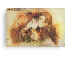 These Kissy Things Canvas Print