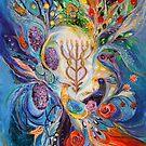Under the light of Menorah II by Elena Kotliarker