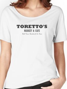 Toretto's Market & Cafe Women's Relaxed Fit T-Shirt