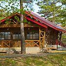 Wooden house by komashyaru