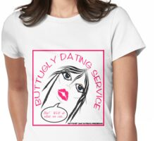 BUTTUGLY DATING SERVICE Womens Fitted T-Shirt