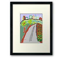 Primitive City Outskirts Framed Print