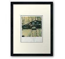 Winter Abode Framed Print