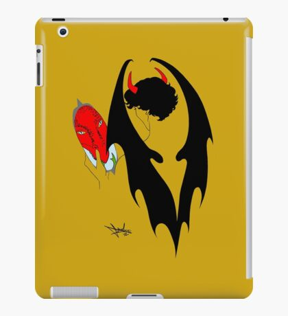 Smauglock Holmes: Reflections of a Consulting Dragon iPad Case/Skin