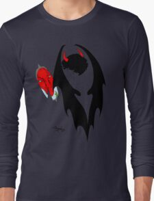 Smauglock Holmes: Reflections of a Consulting Dragon Long Sleeve T-Shirt