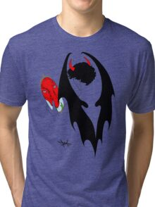 Smauglock Holmes: Reflections of a Consulting Dragon Tri-blend T-Shirt