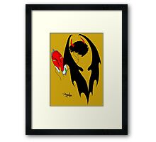 Smauglock Holmes: Reflections of a Consulting Dragon Framed Print