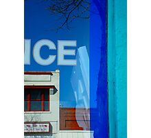Storefront Reflections. Photographic Print