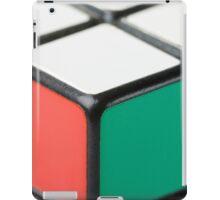 Closeup of Rubik's Cube iPad Case/Skin