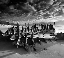 Wrecked wreck by Garry Schlatter