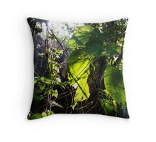 Forest Web Throw Pillow