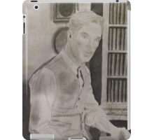 Benedict Cumberbatch Library iPad Case/Skin
