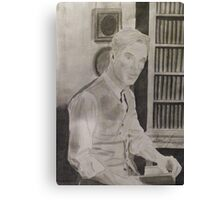 Benedict Cumberbatch Library Canvas Print
