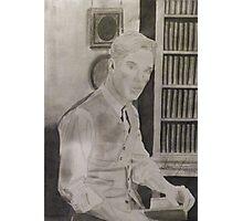 Benedict Cumberbatch Library Photographic Print