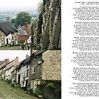 Gold Hill, Shaftesbury England by Monica Vanzant