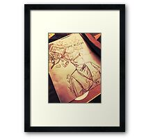 #SaveTheDay Sketches - The Era Eleven Framed Print