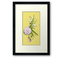 Little summer bouquet Framed Print