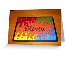 Olivia Greeting Card