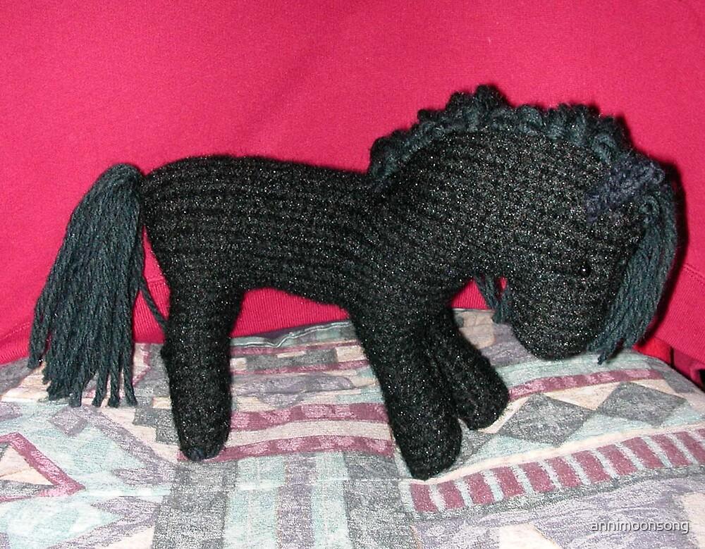 Black Stallion by annimoonsong