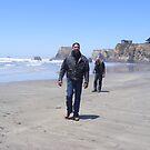 A Walk On The Beach by NancyC