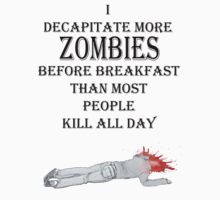 zombie breakfast by IanByfordArt