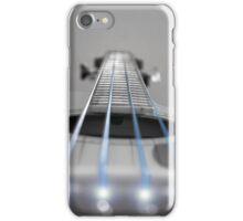 Bass Guitar Blue Strings iPhone Case/Skin