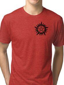 Supernatural anti-possession symbol Tri-blend T-Shirt