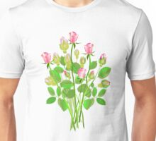 Bunch of Roses Unisex T-Shirt
