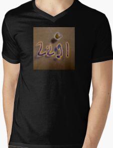 2291 crystal archive neonflash Mens V-Neck T-Shirt