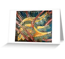 tendons of space and time Greeting Card