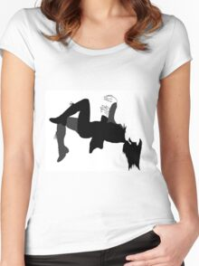 Nine Inches Women's Fitted Scoop T-Shirt