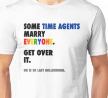 Torchwood - Some Time Agents Marry Everyone Unisex T-Shirt