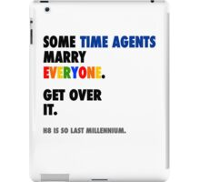 Torchwood - Some Time Agents Marry Everyone iPad Case/Skin