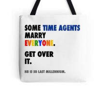 Torchwood - Some Time Agents Marry Everyone Tote Bag