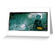 Portrait Photography Beach Greeting Card