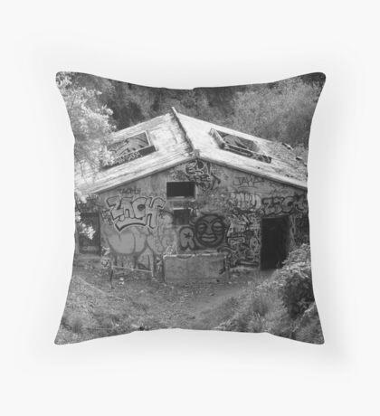 Battered Throw Pillow