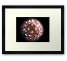 Candy planet Framed Print