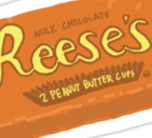 Reese's Peanut Butter Cup Sticker