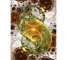 Coffee or Tea - Abstract Fractal Artwork Photographic Print