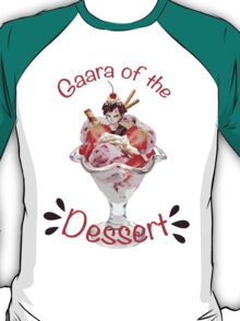 Gaara of the Dessert T-Shirt