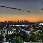 Sunrise over Sydney by Christopher Meder