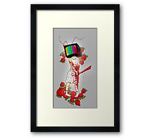 Strawberry Woman Framed Print