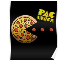PacMan - PacLunch Funny NoveltyShirt Poster