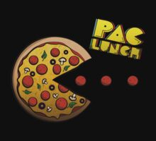 PacMan - PacLunch Funny NoveltyShirt by creepingdeath90
