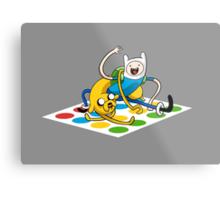 Adventure Time Twister Metal Print