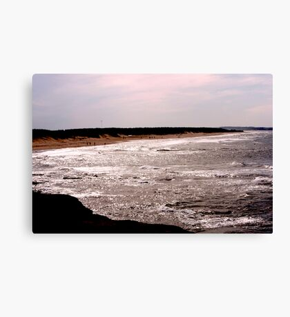 Shining Water - Cavendish Beach, PEI Canvas Print
