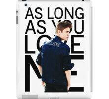 "Justin Bieber ""As Long As You Love Me"" iPad Case/Skin"