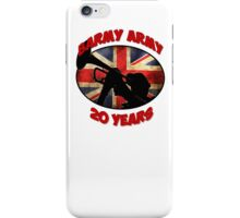 Barmy Army - 20 Years iPhone Case/Skin