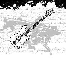 Grunge Guitar by BillyBelynda